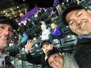 Steve attended Colorado Rockies vs. Philadelphia Phillies - MLB on Apr 18th 2019 via VetTix