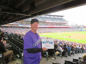 Michael attended Colorado Rockies vs. Philadelphia Phillies - MLB on Apr 18th 2019 via VetTix