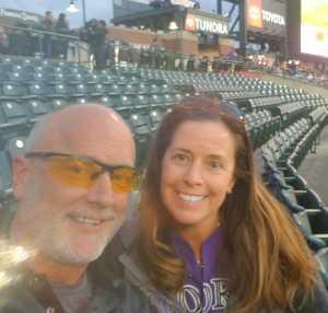 Cynthia attended Colorado Rockies vs. Philadelphia Phillies - MLB on Apr 18th 2019 via VetTix