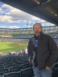 Lawrence attended Colorado Rockies vs. Philadelphia Phillies - MLB on Apr 18th 2019 via VetTix