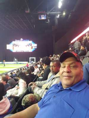 Lazeric attended Chicago Bliss vs. Atlanta Steam - Legends Football League - Women of the Gridiron on Apr 20th 2019 via VetTix