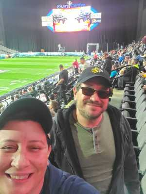 Jennifer attended Chicago Bliss vs. Atlanta Steam - Legends Football League - Women of the Gridiron on Apr 20th 2019 via VetTix