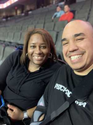 Justin  attended Chicago Bliss vs. Atlanta Steam - Legends Football League - Women of the Gridiron on Apr 20th 2019 via VetTix