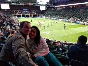 Aaron attended Denver Dream vs. Los Angeles Temptation - Legends Football League - Women of the Gridiron on Apr 26th 2019 via VetTix
