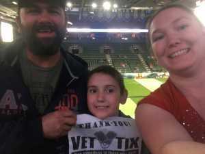 Sarah attended Denver Dream vs. Los Angeles Temptation - Legends Football League - Women of the Gridiron on Apr 26th 2019 via VetTix
