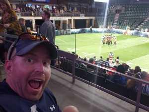 John attended Denver Dream vs. Los Angeles Temptation - Legends Football League - Women of the Gridiron on Apr 26th 2019 via VetTix