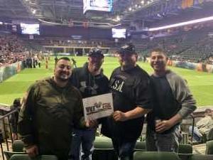 Juan attended Denver Dream vs. Los Angeles Temptation - Legends Football League - Women of the Gridiron on Apr 26th 2019 via VetTix
