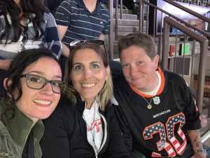 Kathleen attended Denver Dream vs. Los Angeles Temptation - Legends Football League - Women of the Gridiron on Apr 26th 2019 via VetTix