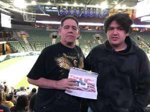 alan attended Denver Dream vs. Los Angeles Temptation - Legends Football League - Women of the Gridiron on Apr 26th 2019 via VetTix