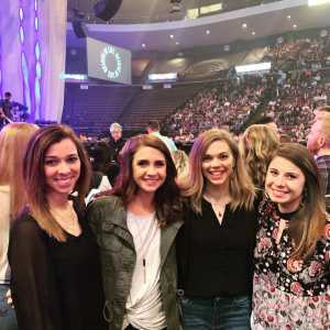 Marshal attended Kelly Clarkson: Meaning of Life Tour on Mar 23rd 2019 via VetTix