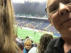 Steve attended Carolina Cobras vs. Massachusetts Pirates - NAL on Apr 20th 2019 via VetTix