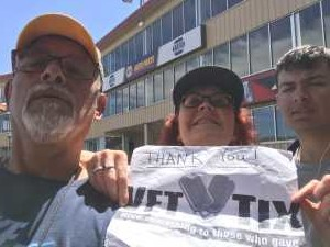 Cynthia attended Chevy Show - Bandimere Speedway on Aug 4th 2019 via VetTix