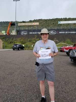 Marcus attended Chevy Show - Bandimere Speedway on Aug 4th 2019 via VetTix