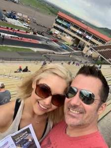 Kirk attended Chevy Show - Bandimere Speedway on Aug 4th 2019 via VetTix