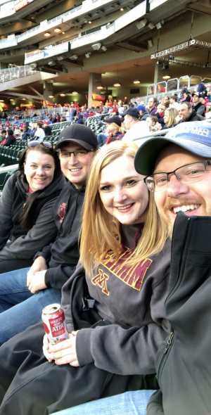 Christopher attended Minnesota Twins vs. Baltimore Orioles - MLB on Apr 26th 2019 via VetTix