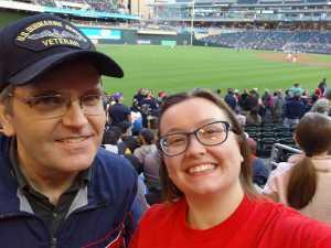 Dan Brown attended Minnesota Twins vs. Baltimore Orioles - MLB on Apr 26th 2019 via VetTix