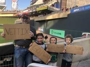 Steven attended Minnesota Twins vs. Baltimore Orioles - MLB on Apr 26th 2019 via VetTix