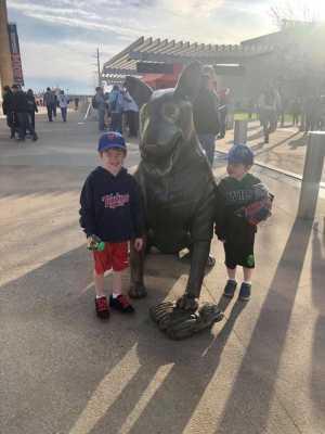 Matthew attended Minnesota Twins vs. Baltimore Orioles - MLB on Apr 26th 2019 via VetTix