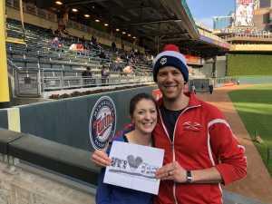 James attended Minnesota Twins vs. Baltimore Orioles - MLB on Apr 26th 2019 via VetTix