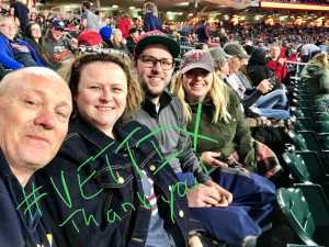 Tracy attended Minnesota Twins vs. Baltimore Orioles - MLB on Apr 26th 2019 via VetTix