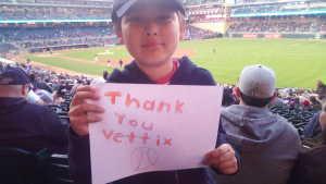Lee attended Minnesota Twins vs. Baltimore Orioles - MLB on Apr 26th 2019 via VetTix