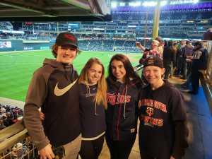 Jeremy  attended Minnesota Twins vs. Baltimore Orioles - MLB on Apr 26th 2019 via VetTix