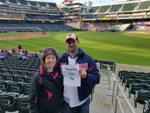 Ryan attended Minnesota Twins vs. Baltimore Orioles - MLB on Apr 26th 2019 via VetTix