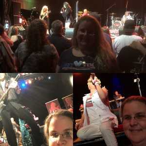 Tracy attended Icons Feat. Tributes to P! Nk, Billy Idol, and Heart - Pop on Apr 20th 2019 via VetTix