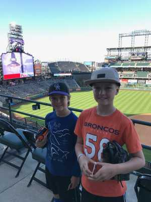 Roland attended Colorado Rockies vs. Philadelphia Phillies - MLB on Apr 19th 2019 via VetTix