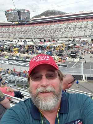 Mitch attended Food City 500 - KB100 - Kurt Busch Fan Appreciation Tickets on Apr 7th 2019 via VetTix