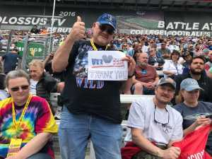 Glenn attended Food City 500 - KB100 - Kurt Busch Fan Appreciation Tickets on Apr 7th 2019 via VetTix