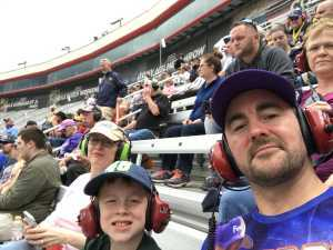 Kevin attended Food City 500 - KB100 - Kurt Busch Fan Appreciation Tickets on Apr 7th 2019 via VetTix