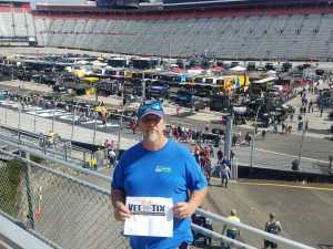 Gerry attended Food City 500 - KB100 - Kurt Busch Fan Appreciation Tickets on Apr 7th 2019 via VetTix