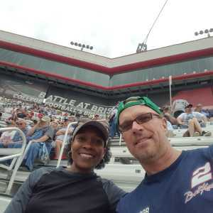 Bret attended Food City 500 - KB100 - Kurt Busch Fan Appreciation Tickets on Apr 7th 2019 via VetTix