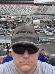 Kenneth attended Food City 500 - KB100 - Kurt Busch Fan Appreciation Tickets on Apr 7th 2019 via VetTix