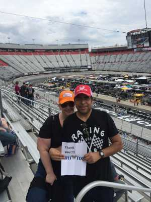 Lee attended Food City 500 - KB100 - Kurt Busch Fan Appreciation Tickets on Apr 7th 2019 via VetTix