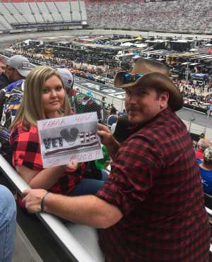 Randy attended Food City 500 - KB100 - Kurt Busch Fan Appreciation Tickets on Apr 7th 2019 via VetTix