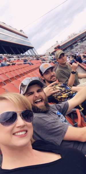 christine attended Food City 500 - KB100 - Kurt Busch Fan Appreciation Tickets on Apr 7th 2019 via VetTix