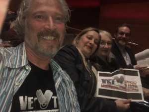 Roger attended The Chamber Music Society of Lincoln Center - Three Centuries on Apr 5th 2019 via VetTix