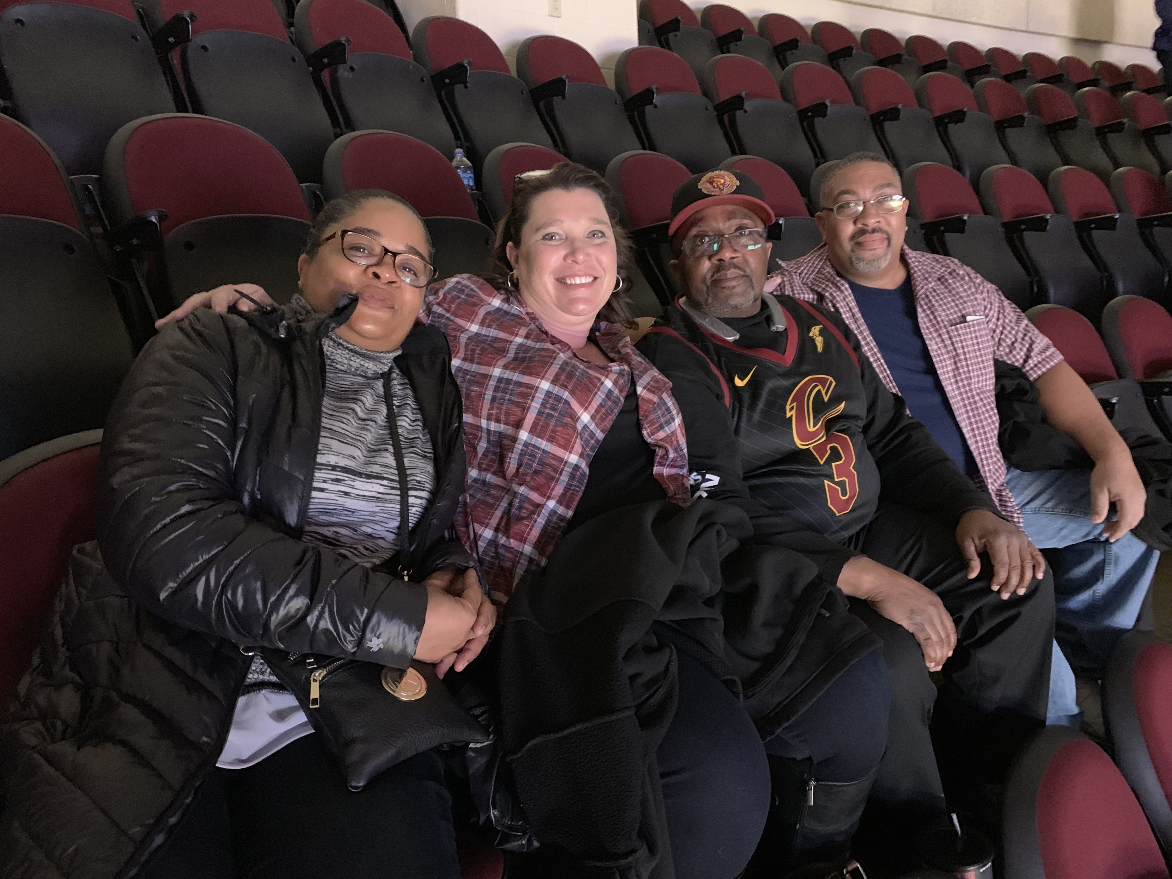 1a03434645f Clyde attended Cleveland Cavaliers vs. Boston Celtics - NBA on Mar 26th  2019 via VetTix