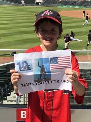 John-Michael attended Atlanta Braves vs. Miami Marlins - MLB on Apr 6th 2019 via VetTix