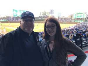Ronald attended Chicago Cubs vs. Los Angeles Dodgers - MLB on Apr 23rd 2019 via VetTix