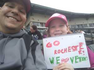 William attended Rochester Red Wings vs. Syracuse Chiefs - MiLB on Apr 17th 2019 via VetTix