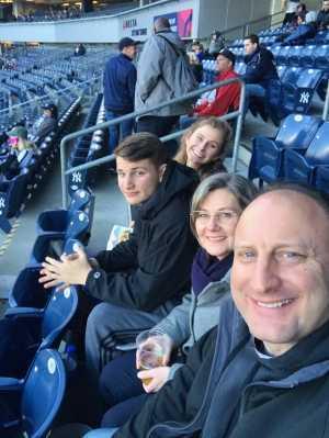 Efrain attended New York Yankees vs. Detroit Tigers - MLB on Apr 1st 2019 via VetTix