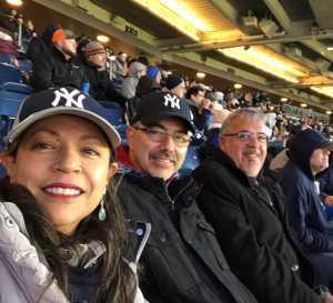 LEONARDO attended New York Yankees vs. Detroit Tigers - MLB on Apr 1st 2019 via VetTix