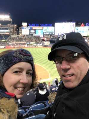 John attended New York Yankees vs. Detroit Tigers - MLB on Apr 1st 2019 via VetTix