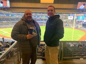 Vincent attended New York Yankees vs. Detroit Tigers - MLB on Apr 1st 2019 via VetTix