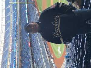 Julio attended New York Yankees vs. Detroit Tigers - MLB on Apr 1st 2019 via VetTix