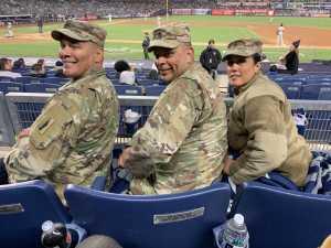 SSG MARCELINO attended New York Yankees vs. Detroit Tigers - MLB on Apr 1st 2019 via VetTix