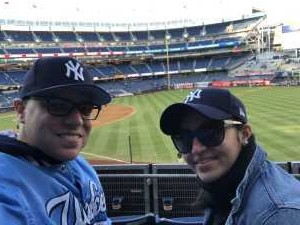 Joseph attended New York Yankees vs. Detroit Tigers - MLB on Apr 1st 2019 via VetTix